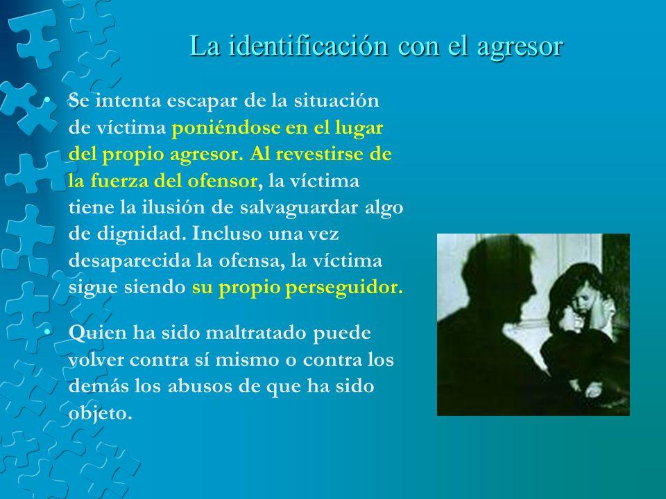 La identificación con el agresor