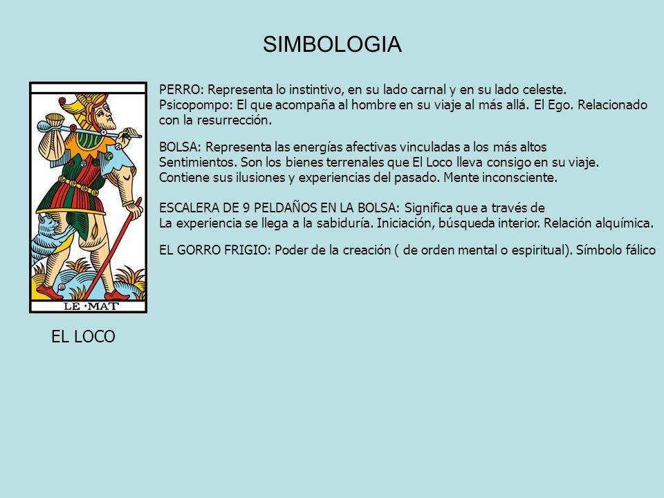 SIMBOLOGIA PERRO: Representa lo instintivo, en su lado carnal y en su lado celeste.