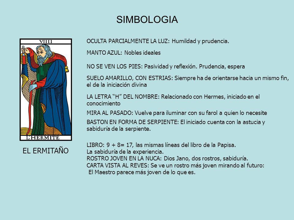 SIMBOLOGIA EL ERMITAÑO