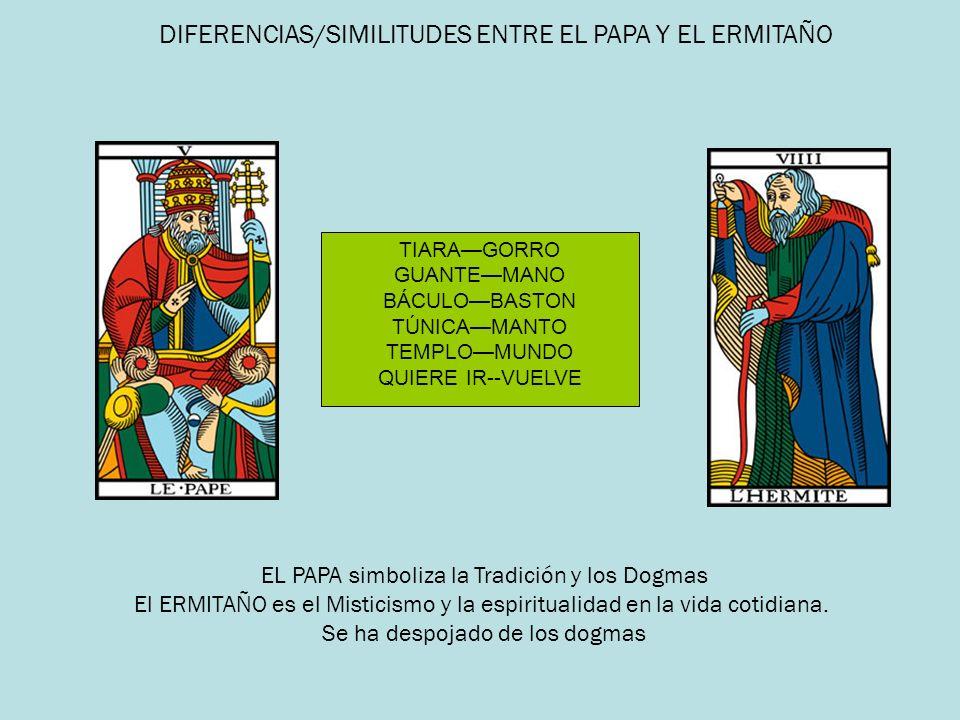 DIFERENCIAS/SIMILITUDES ENTRE EL PAPA Y EL ERMITAÑO