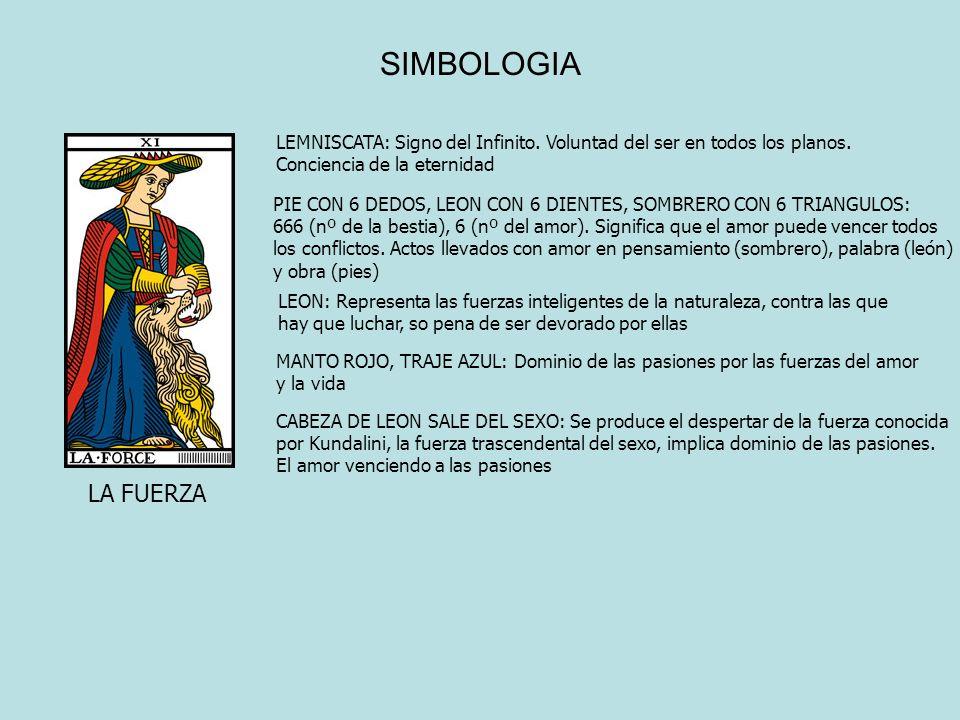 SIMBOLOGIA LEMNISCATA: Signo del Infinito. Voluntad del ser en todos los planos. Conciencia de la eternidad.