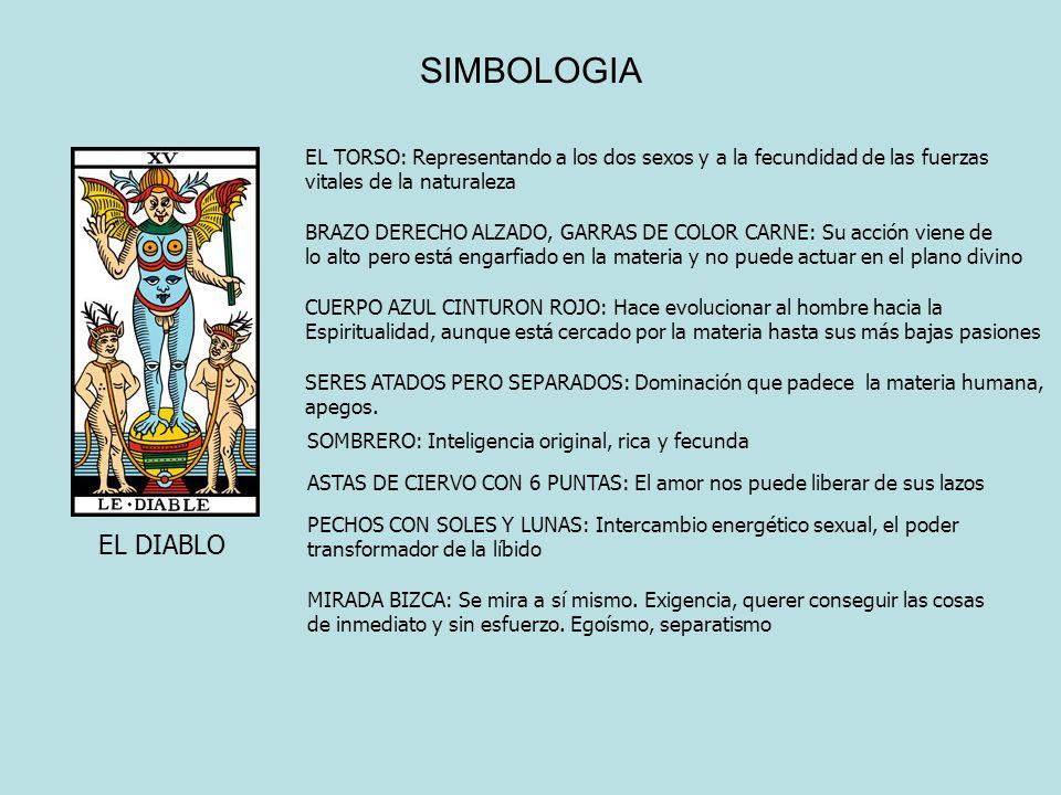 SIMBOLOGIA EL TORSO: Representando a los dos sexos y a la fecundidad de las fuerzas. vitales de la naturaleza.