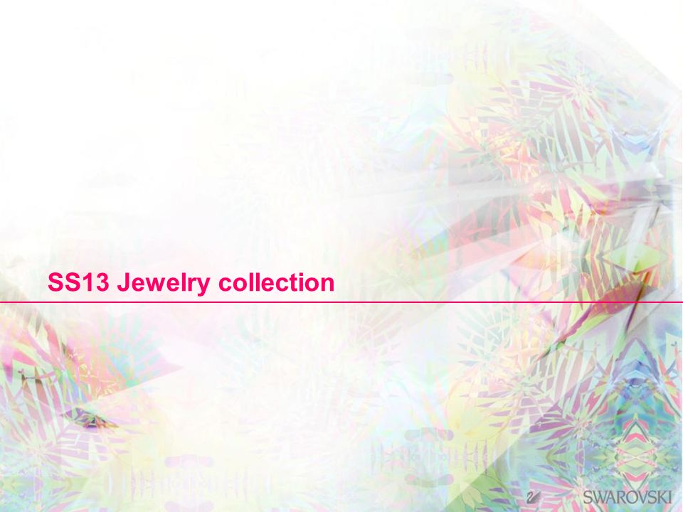 SS13 Jewelry collection