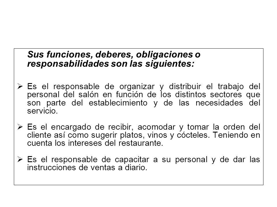 ADMINISTRACION DE HOTELES Y RESTAURANTES GESTION DE RESTAURANTES ...