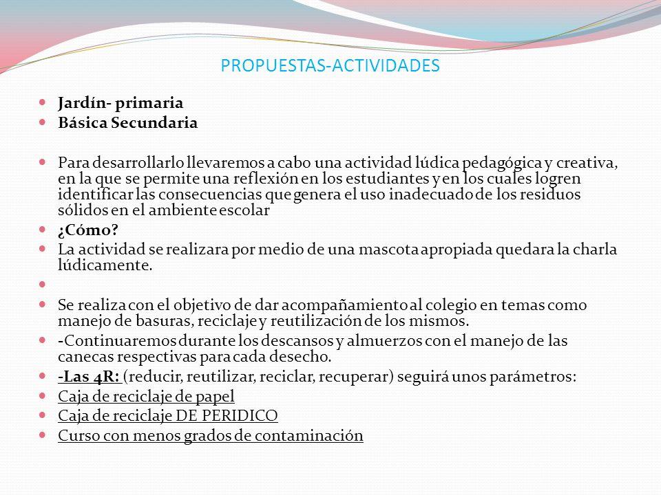 PROPUESTAS-ACTIVIDADES
