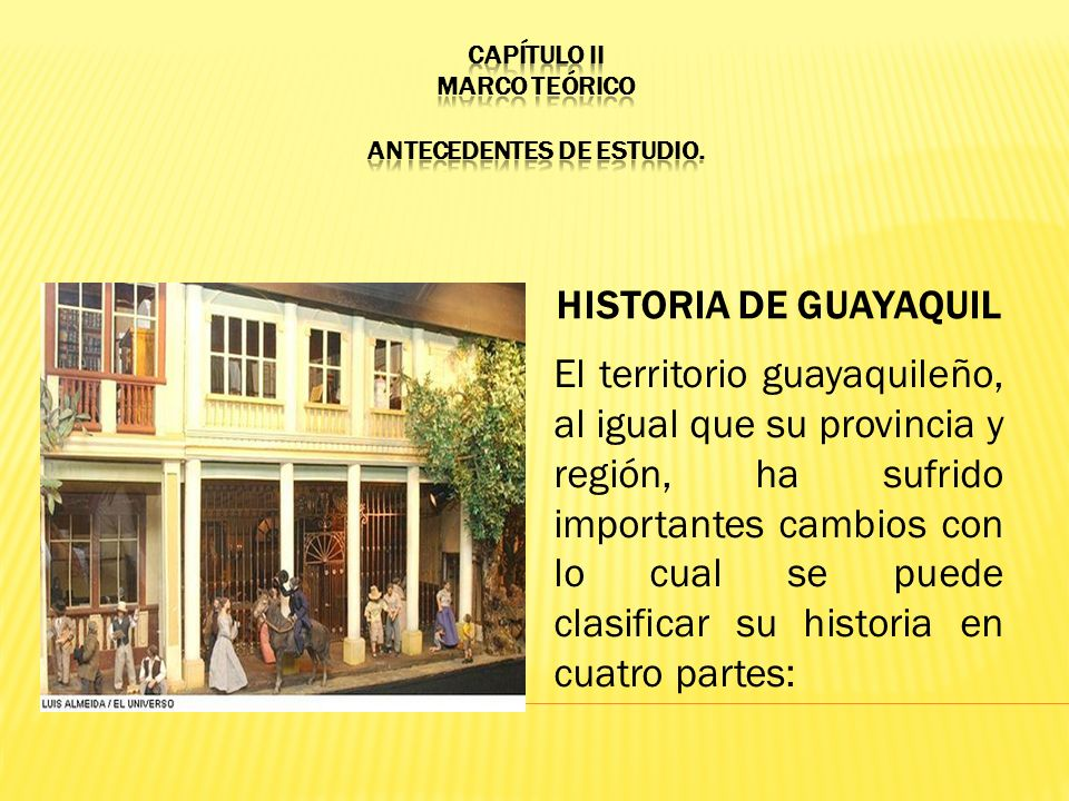 CAPÍTULO II MARCO TEÓRICO ANTECEDENTES DE ESTUDIO.