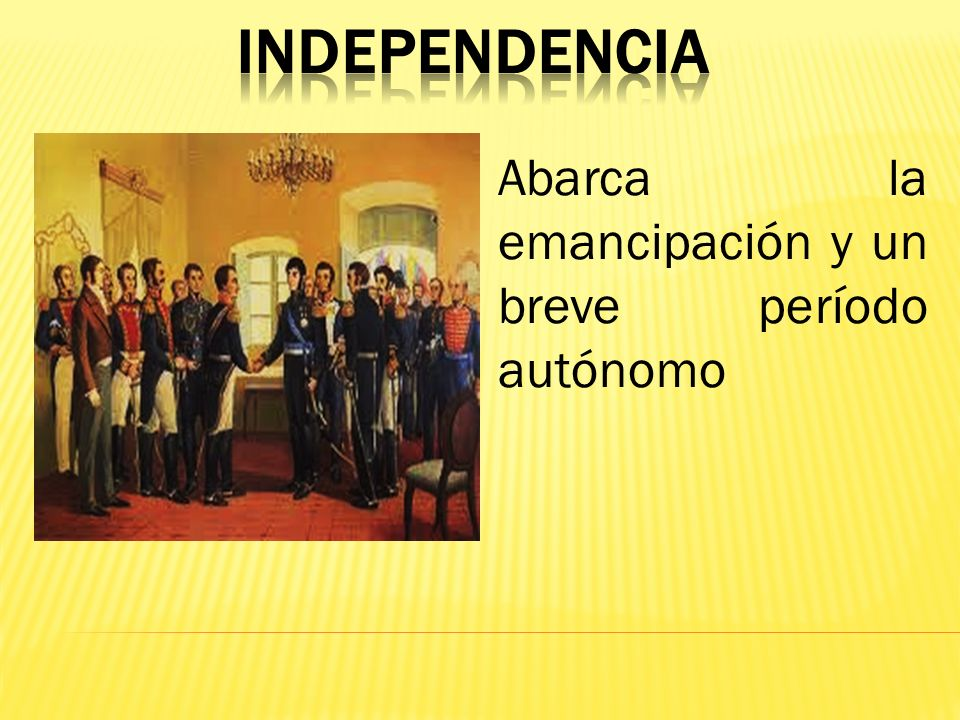 Época Independentista