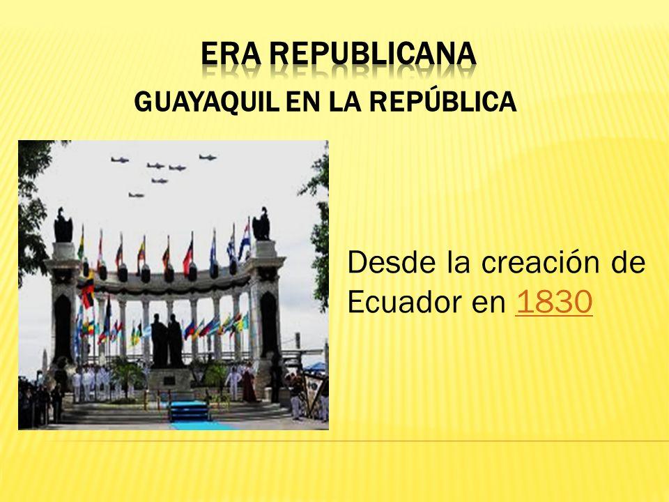 Guayaquil en la República