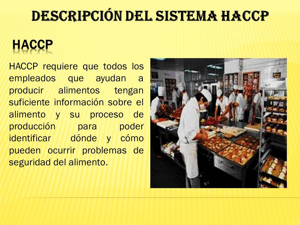 Descripción del Sistema HACCP