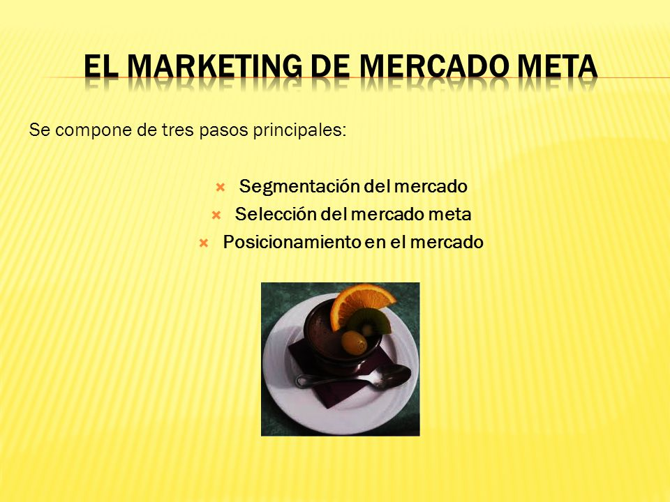 EL MARKETING DE MERCADO META
