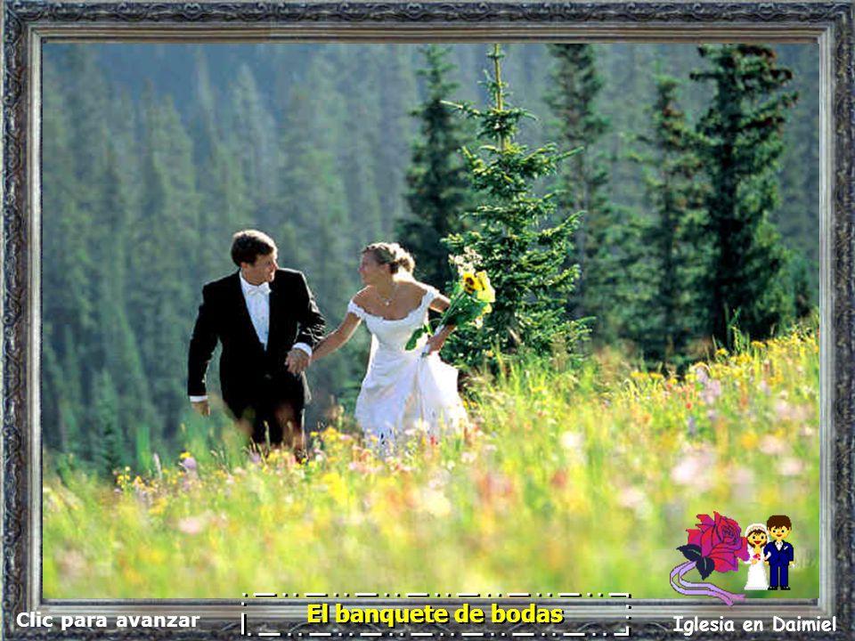 El banquete de bodas Clic para avanzar Iglesia en Daimiel