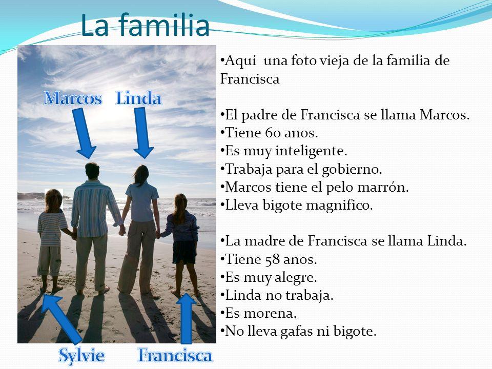 La familia Marcos Linda Sylvie Francisca