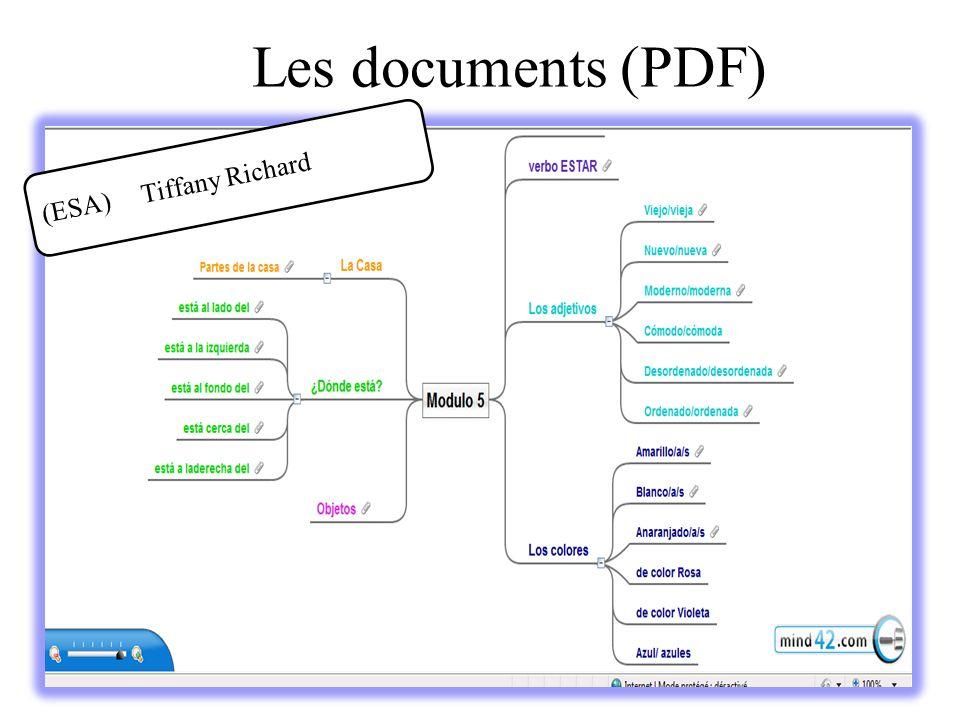 Les documents (PDF) (ESA) Tiffany Richard