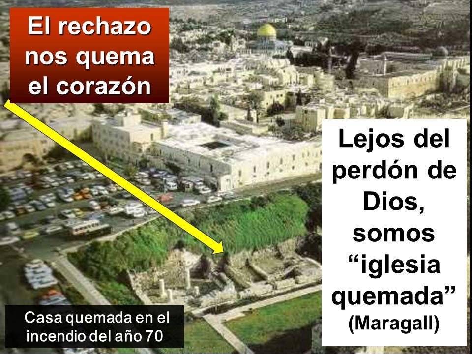Lejos del perdón de Dios, somos iglesia quemada (Maragall)