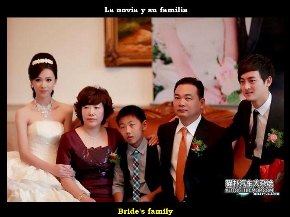 La novia y su familia Bride s family