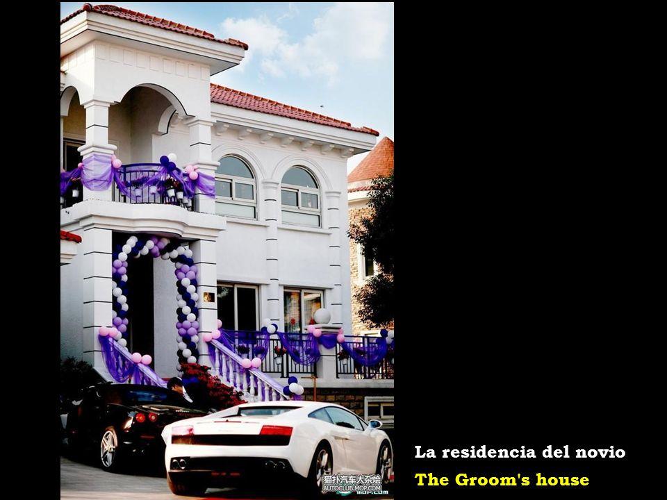 La residencia del novio