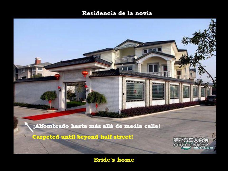 Residencia de la novia Bride s home