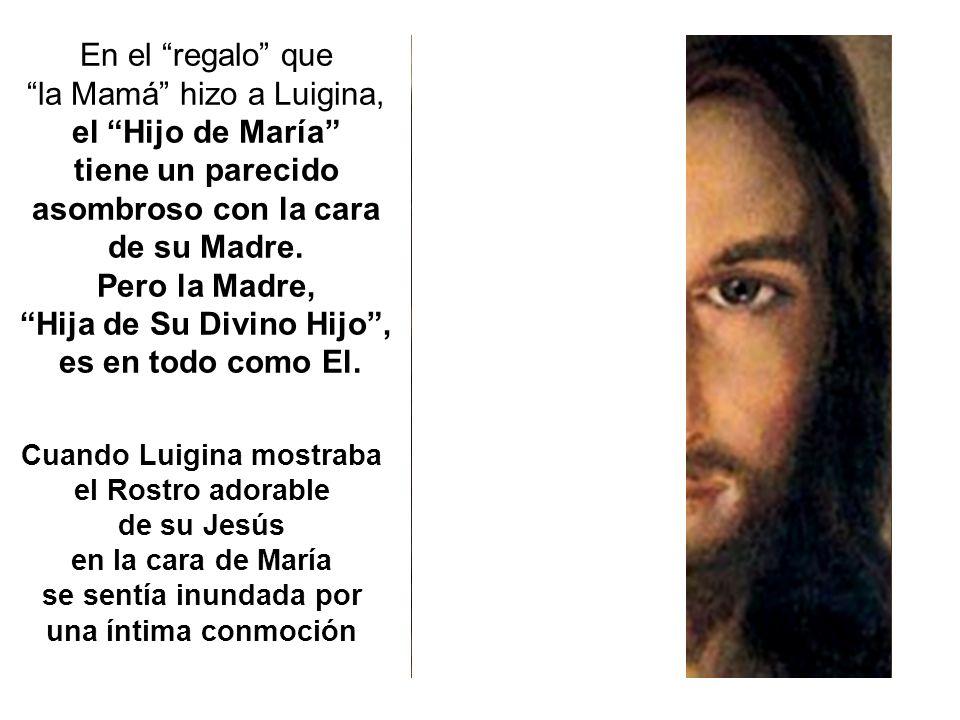 la Mamá hizo a Luigina, el Hijo de María