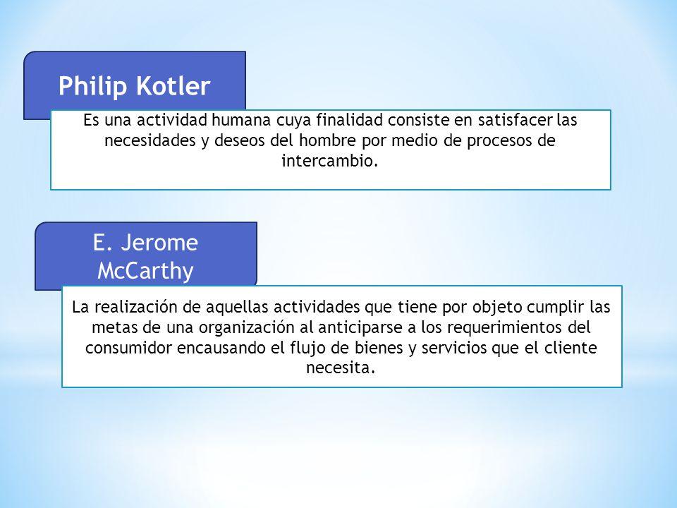 Philip Kotler E. Jerome McCarthy