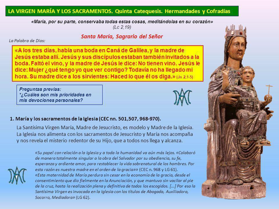 Santa María, Sagrario del Señor