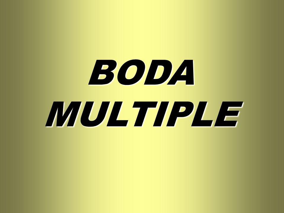 BODA MULTIPLE