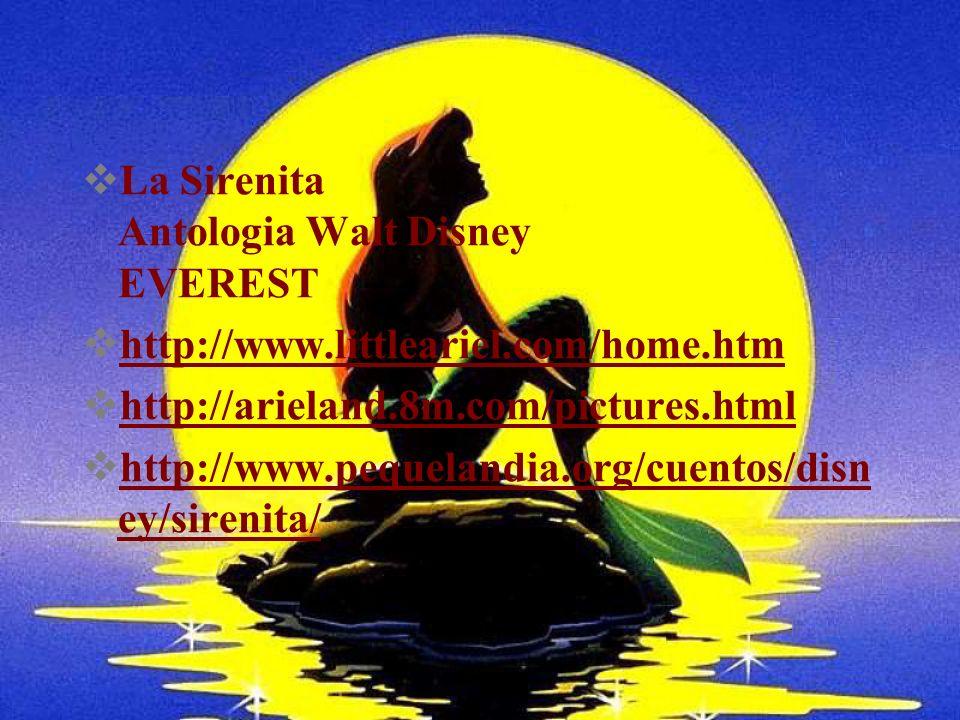 La Sirenita Antologia Walt Disney EVEREST