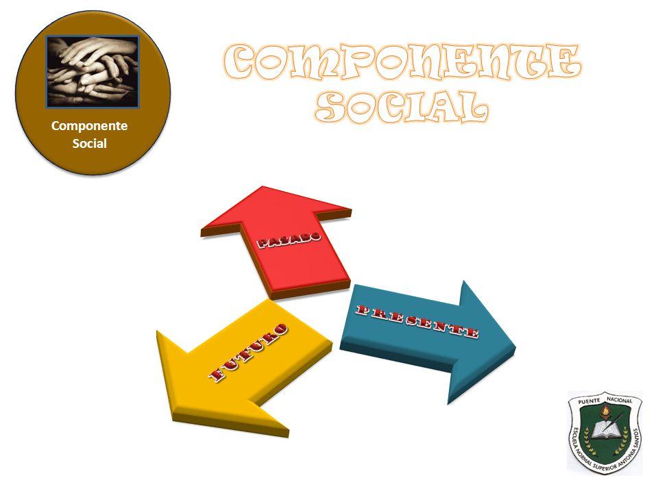 COMPONENTE SOCIAL PASADO PRESENTE FUTURO Componente Social