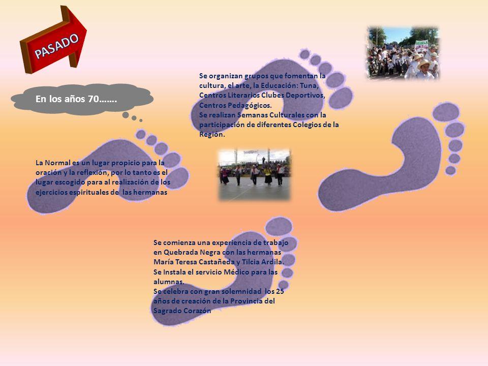 PASADO Se organizan grupos que fomentan la cultura, el arte, la Educación: Tuna, Centros Literarios Clubes Deportivos, Centros Pedagógicos.