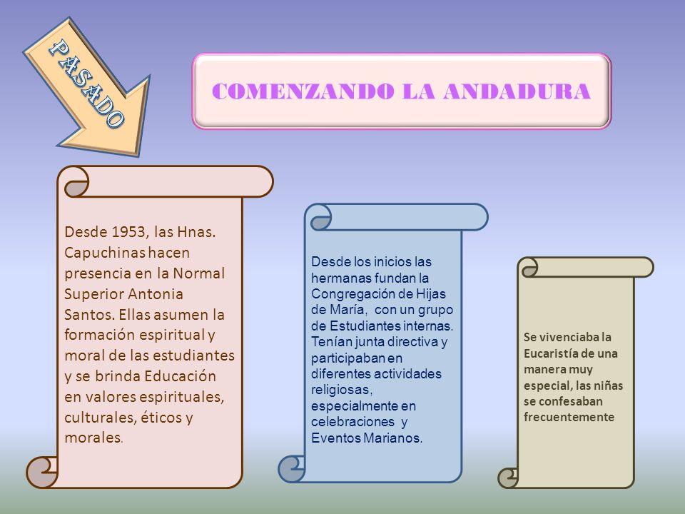 COMENZANDO LA ANDADURA