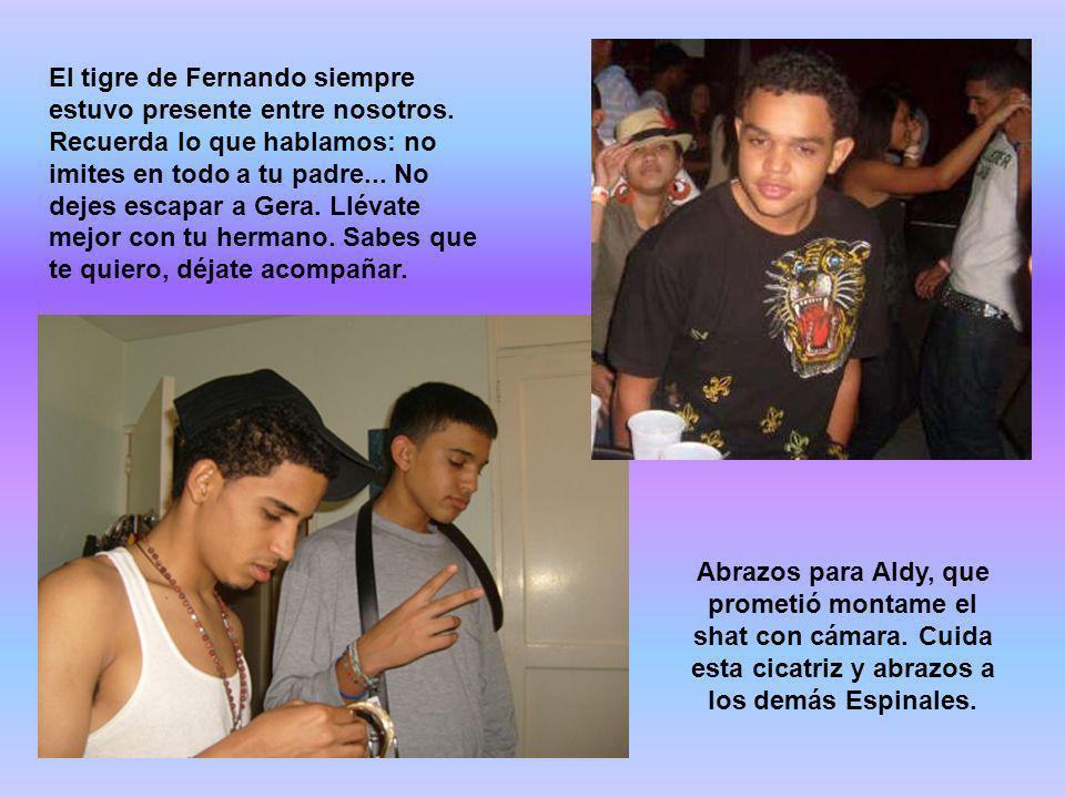 El tigre de Fernando siempre estuvo presente entre nosotros