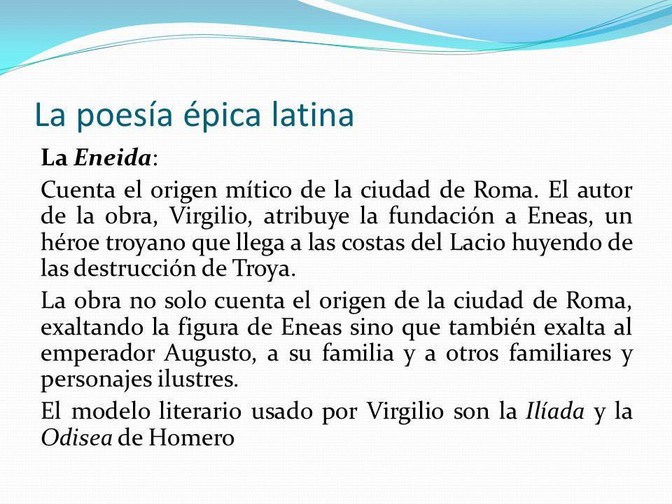 La poesía épica latina