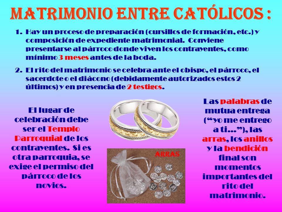 Rito Del Matrimonio Catolico : El sacramento del matrimonio ppt descargar