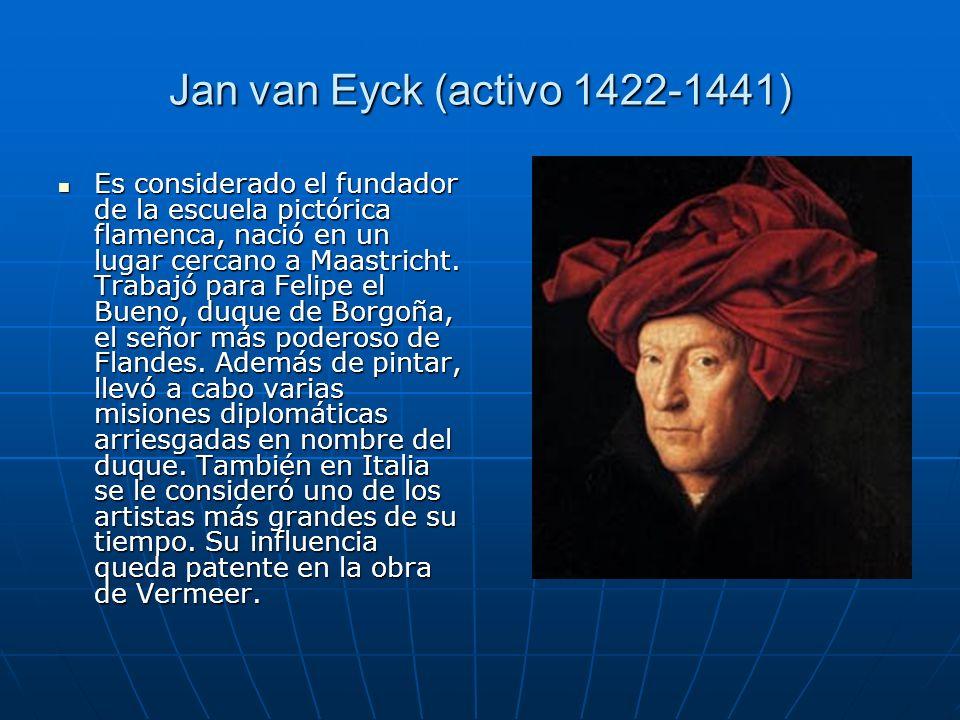 Jan van Eyck (activo 1422-1441)