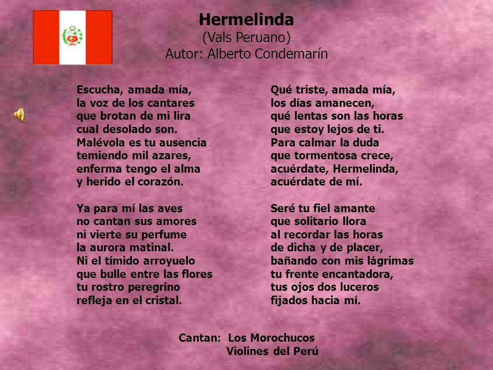 Cantan: Los Morochucos