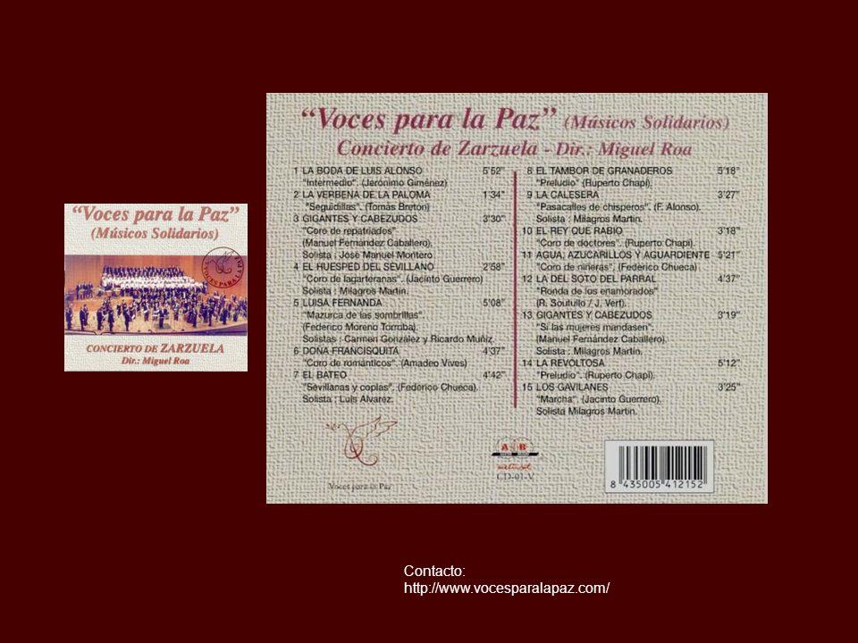 Contacto: http://www.vocesparalapaz.com/