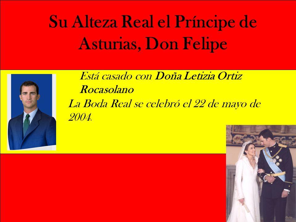 Su Alteza Real el Príncipe de Asturias, Don Felipe