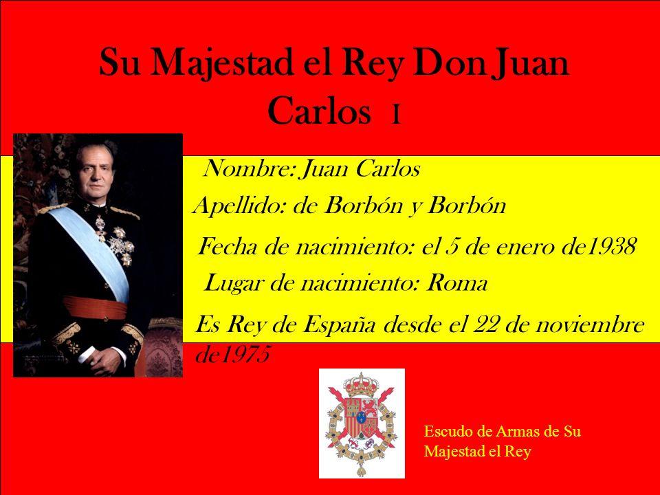 Su Majestad el Rey Don Juan Carlos I