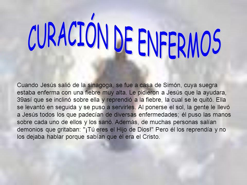 CURACIÓN DE ENFERMOS