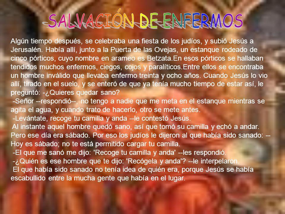 SALVACIÓN DE ENFERMOS