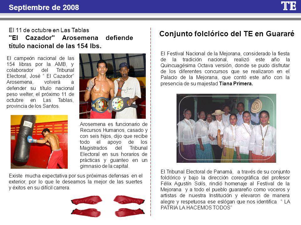 Conjunto folclórico del TE en Guararé