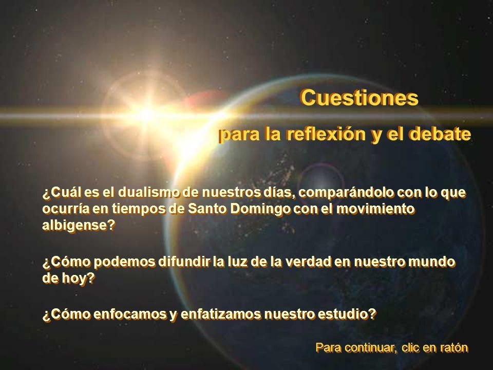 Cuestiones para la reflexión y el debate