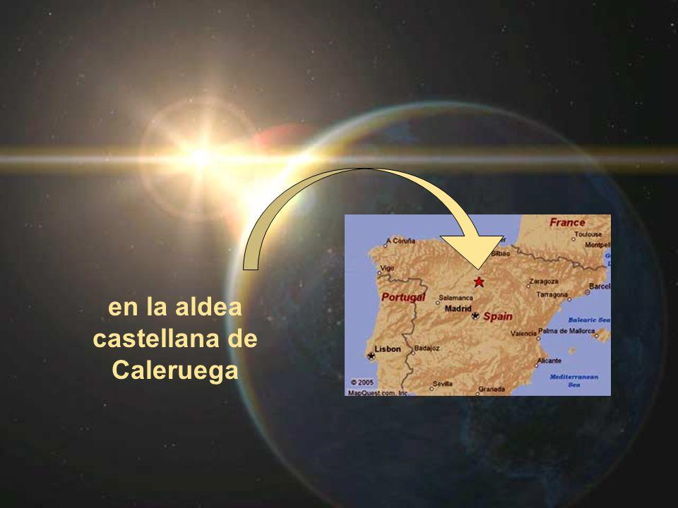 en la aldea castellana de Caleruega