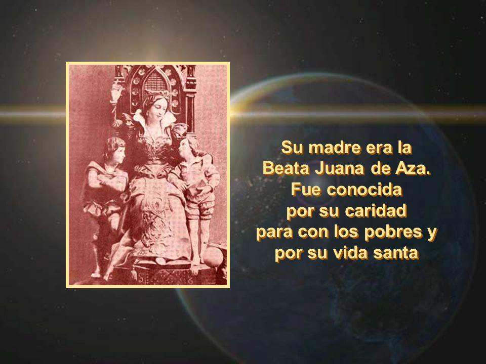 Beata Juana de Aza. Fue conocida
