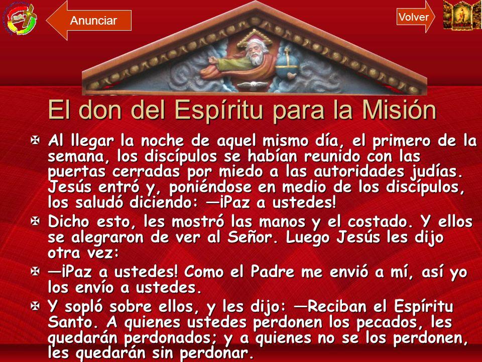 El don del Espíritu para la Misión