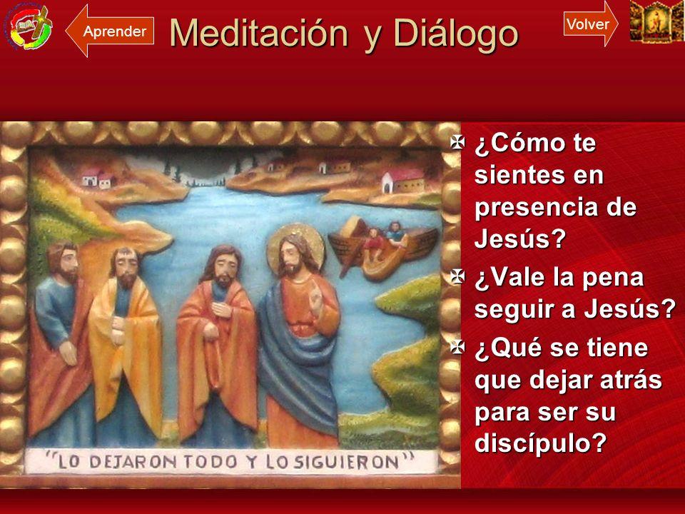 Meditación y Diálogo ¿Cómo te sientes en presencia de Jesús