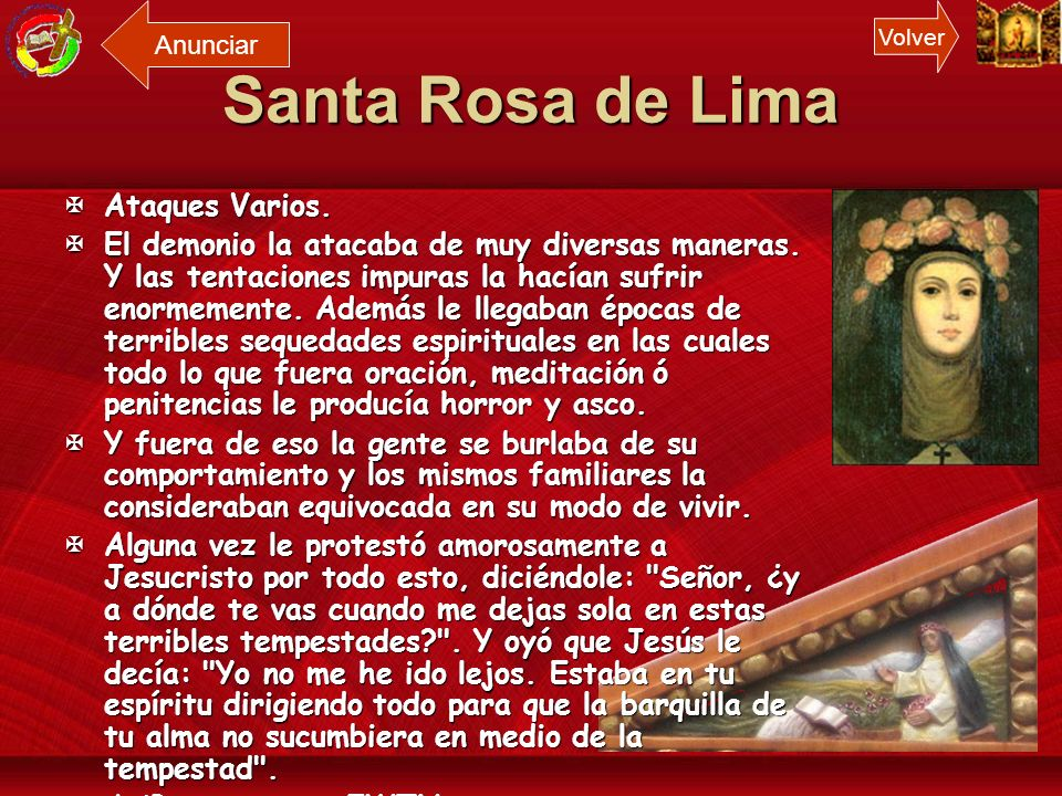 Santa Rosa de Lima Ataques Varios.