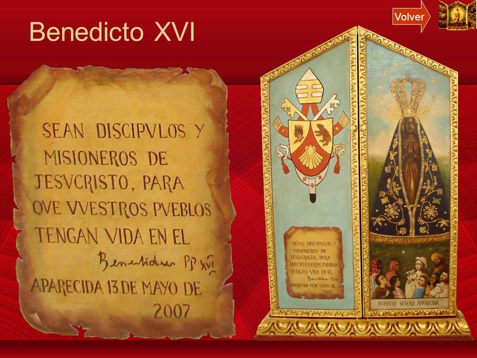 Volver Benedicto XVI