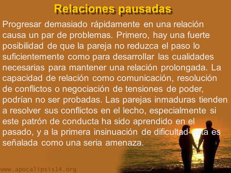 Relaciones pausadas