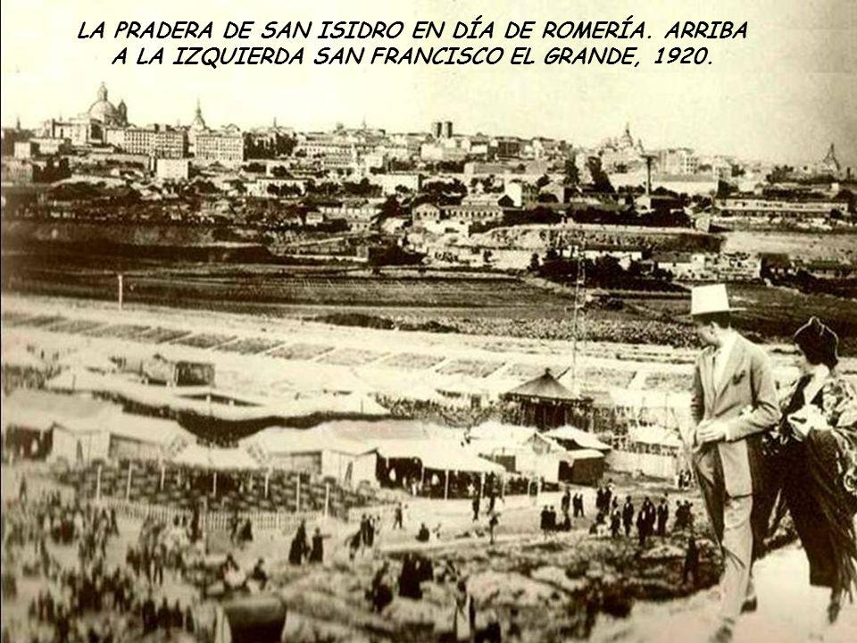 LA PRADERA DE SAN ISIDRO EN DÍA DE ROMERÍA