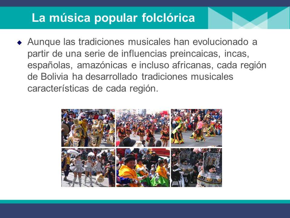 La música popular folclórica